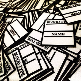 WORKROWN - REFLECTION NAME TAG STICKER