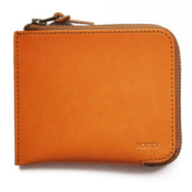 "bal - Thin Leather Wallet ""S"" by Porter (yellow)"