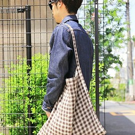 fog linen work - [B:MING LIFE STORE by BEAMS] 別注 リネンバッグ