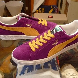 PUMA - 「<deadstock>'96 PUMA SUEDE purple/yellow size:26cm 10000yen」完売
