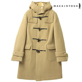 MACKINTOSH - Mackintosh coat women's MACKINTOSH WEIR Duffle coat 3985E HG03 wool 100% camel