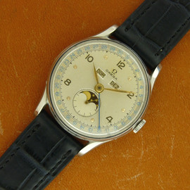OMEGA - TRIPLE CALENDAR MOON PHASE