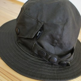 Stussy, NEXUSVII - Rain Crusher Hat - Black