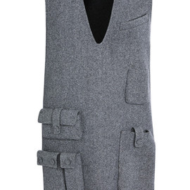 ALEXANDER WANG - FW2014 Sleeveless Tunic Dress With Multi Cargo Pockets