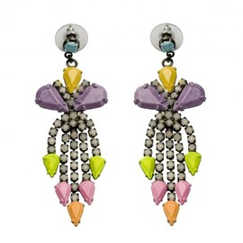 Tom Binns - LONG PASTELLE EARRINGS