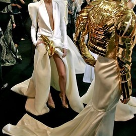Stephane Rolland - Haute Couture SS 2011 Backstage