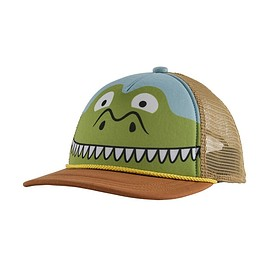patagonia - Kids' Interstate Hat, Patagator: Earthworm Brown (PREB)