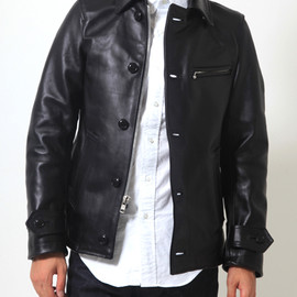 JUNYA WATANABE COMME des GARCONS MAN - ×VANSON LEATHER JACKET