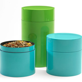 Tea Canisters, Green