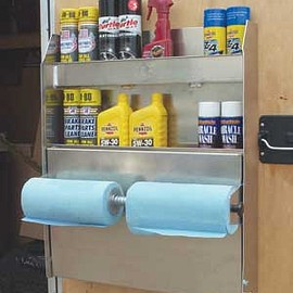 Pit Pal - Trailer Door Cabinet /Wall Organizer