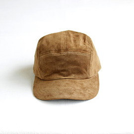 Hender Scheme - water proof pig jet cap #khaki brown