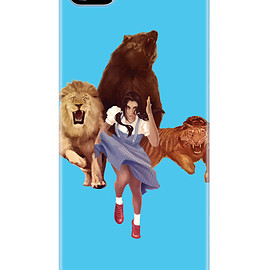 Sharp Shirter - Lion, Tiger, Bear  iPhone5/5s Case