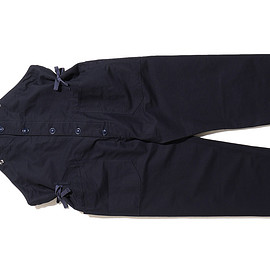 ENGINEERED GARMENTS - Overalls-Double Cloth-Navy