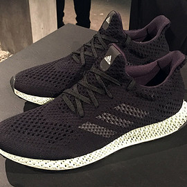 adidas - Futurecraft 4D - Core Black/Ash Green