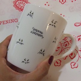 OPENING CEREMONY - CAT mugcup