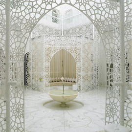 Marrakech,Morocco - The Royal Mansour Hotel, Marrakech