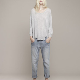 Girl. BY BAND OF OUTSIDERS - 2013SS BOYFRIEND JEANS