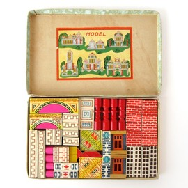 thingsorganizedneatly:    SUBMISSION: Vintage Acme Building Blocks by Suzanna Scott
