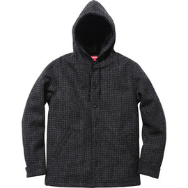 Supreme - Harris Tweed® Coaches Jacket - Black