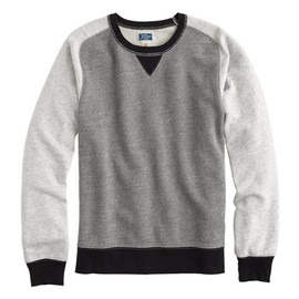 J.Crew - colorblock sweatshirt