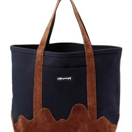 BEAMS, PORTER, B印 YOSHIDA - coffee and milk×PORTER 11AW TOTE BAG
