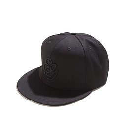 ENGINEERED GARMENTS - Logo Baseball Cap-PC Twill-Black