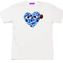 A Bathing Ape x Comme des Garcons -  PLAY Collection
