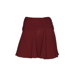 miu miu - RUCHED CREPE MINI SKIRT