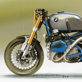 Petit Motorcycle Creation - BMW GS Scrambler wunderlich