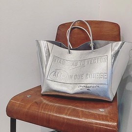 sacai - Lawrence Weiner Tote Bag