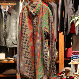 Engineered Garments - 19TH BD SHIRTS 【FOULAD HIPPIE STRIPE】