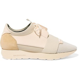 Balenciaga - Race Runner leather, mesh, suede and neoprene sneakers