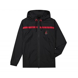 Jordan Brand - Wings of Flight Windbreaker - Black/Gym Red