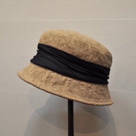 mature - mature ha. jute drape hat short