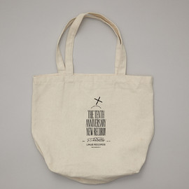 LINUS RECORDS - The 10th Anniversary Tote Bag of Linus & n5MD