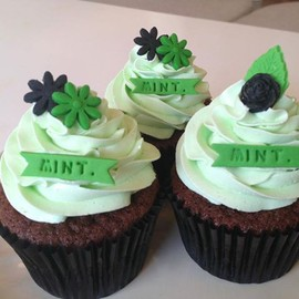 London Cupcakes - Choco-Mint