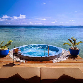 Velaa Private Island in the Maldives - The beautiful My Blend by Clarins Spa