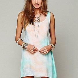 Free People - Key Largo Tie Dye Dress