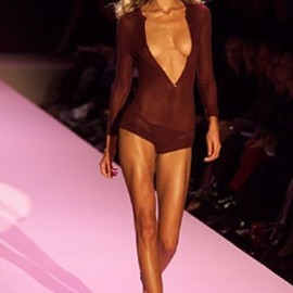 Gucci - Body Suit.Tom Ford for Gucci Summer 2002