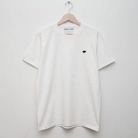 cup and cone - Embroidered Tee - White