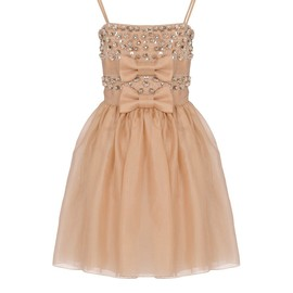 RED VALENTINO - Dress in silk toile