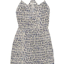 Madewell - Sunlight printed silk mini dress
