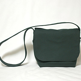 TEJIKA - Mini Flap Bag - dark green