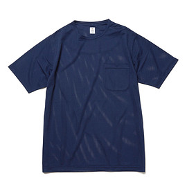 HEAD PORTER PLUS - MESH TEE NAVY