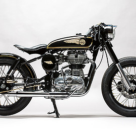 Mid Life Cycles - 'Brass Rajah' Royal Enfield 350