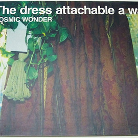 COSMIC WONDER - The dress attachable a wall