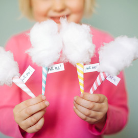 "Oh Happy Day! - DIY Mini Cotton ""Candy"" message cards"