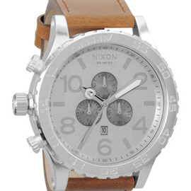NIXON - THE 51-30 CHrono Leather (Saddle)