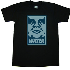 BNE, OBEY - Water Tee - Black