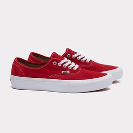 VANS - AUTHENTIC PRO (RED/WHITE)